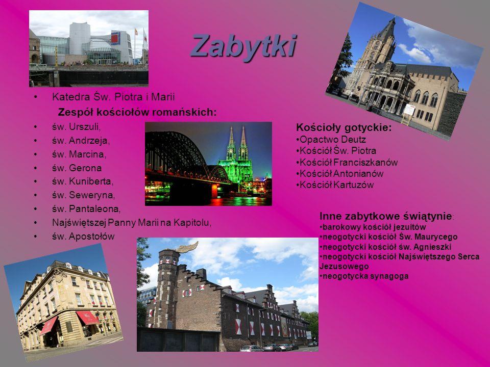 Zabytki Katedra Św. Piotra i Marii Zespół kościołów romańskich: