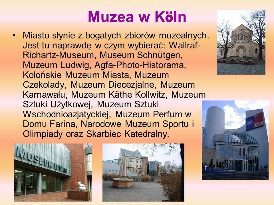 Muzea w Köln