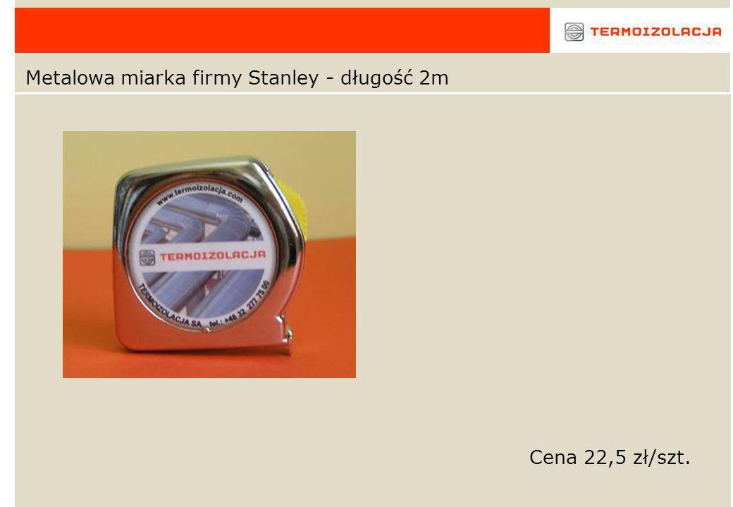 Metalowa miarka firmy Stanley - długość 2m