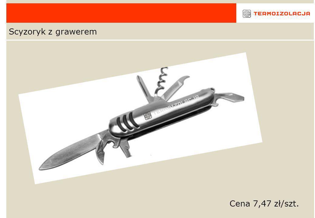 Scyzoryk z grawerem Cena 7,47 zł/szt.