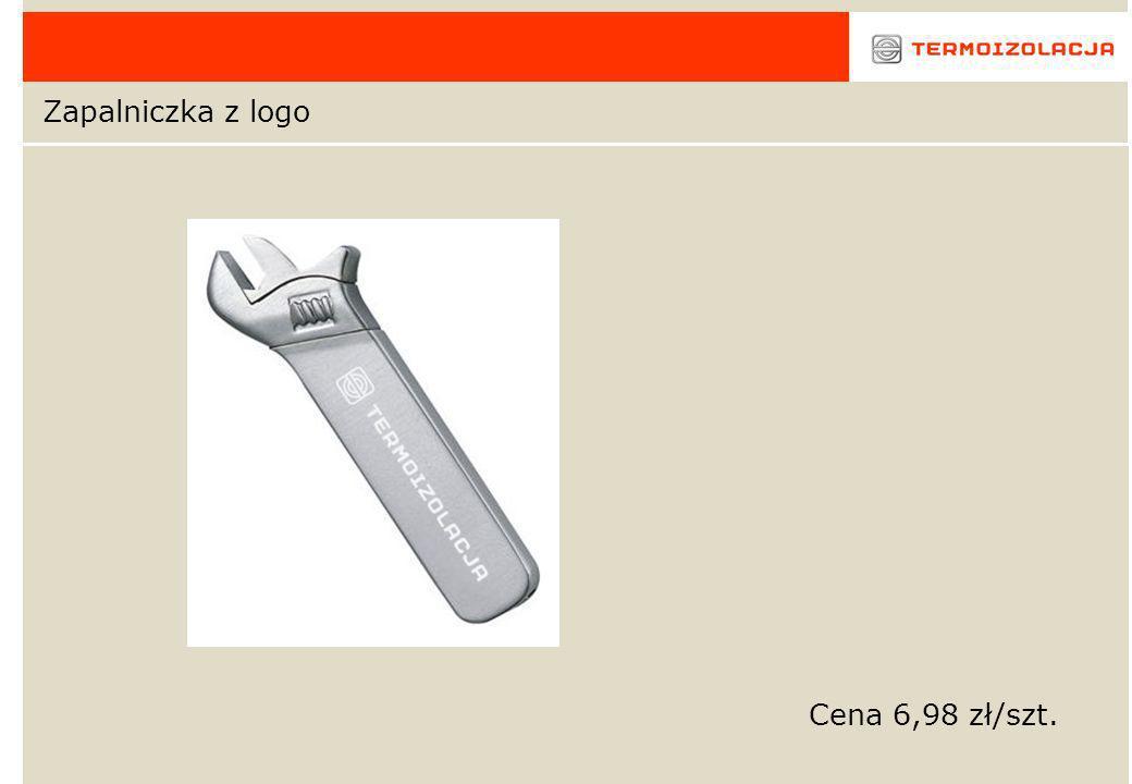 Zapalniczka z logo Cena 6,98 zł/szt.