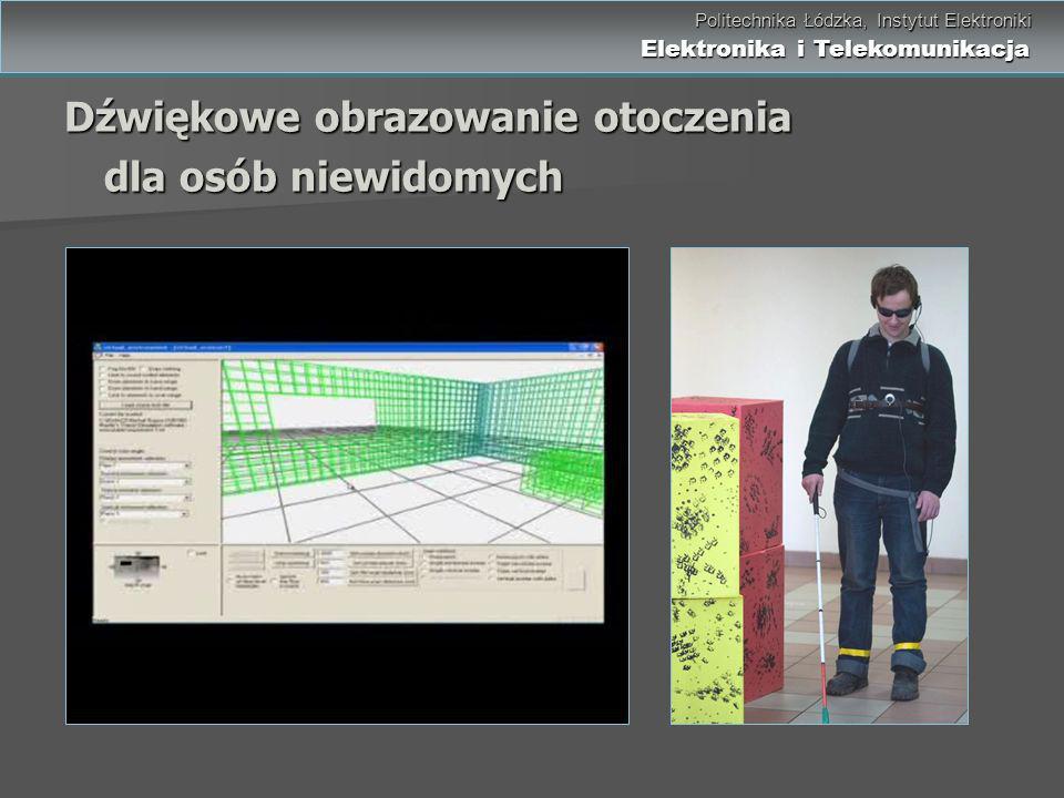 Dźwiękowe obrazowanie otoczenia dla osób niewidomych