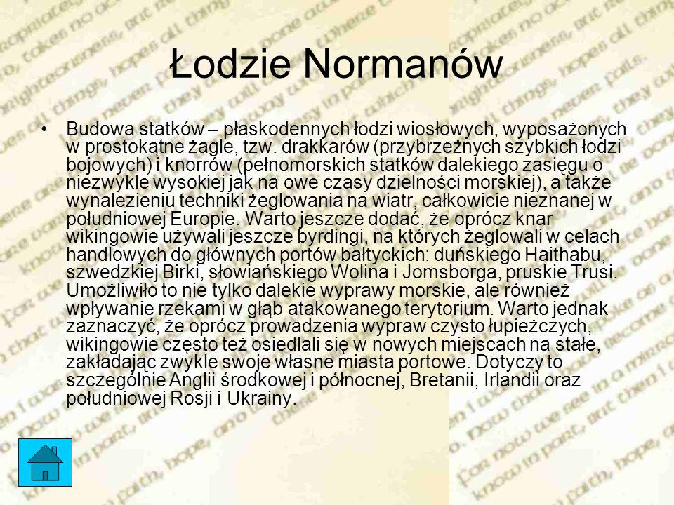 Łodzie Normanów