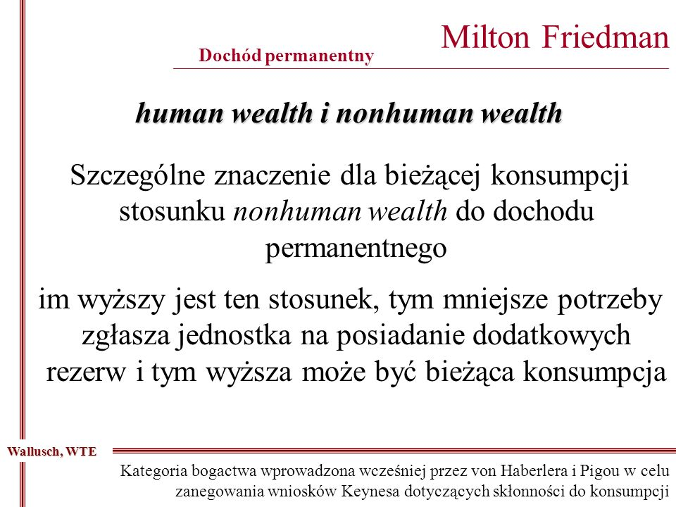 human wealth i nonhuman wealth
