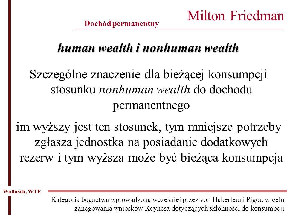 human wealth i nonhuman wealth