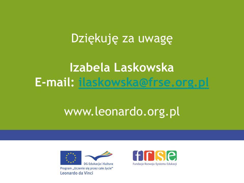 E-mail: ilaskowska@frse.org.pl