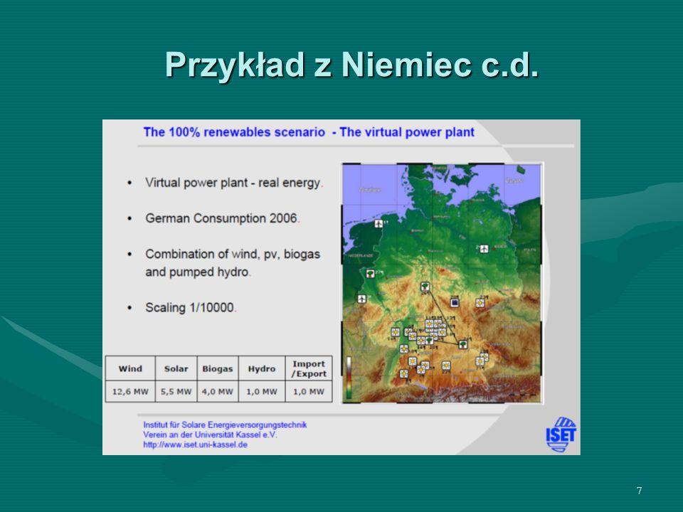 Przykład z Niemiec c.d.