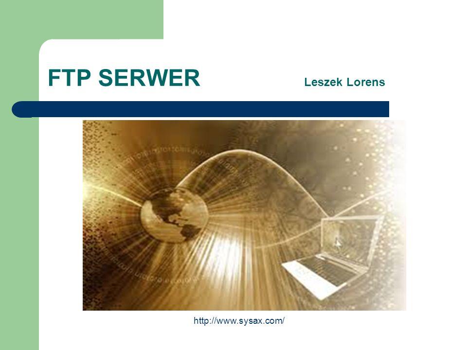 FTP SERWER Leszek Lorens