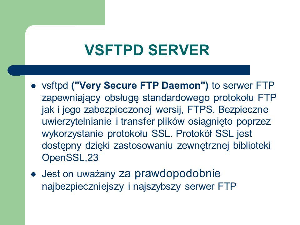 VSFTPD SERVER