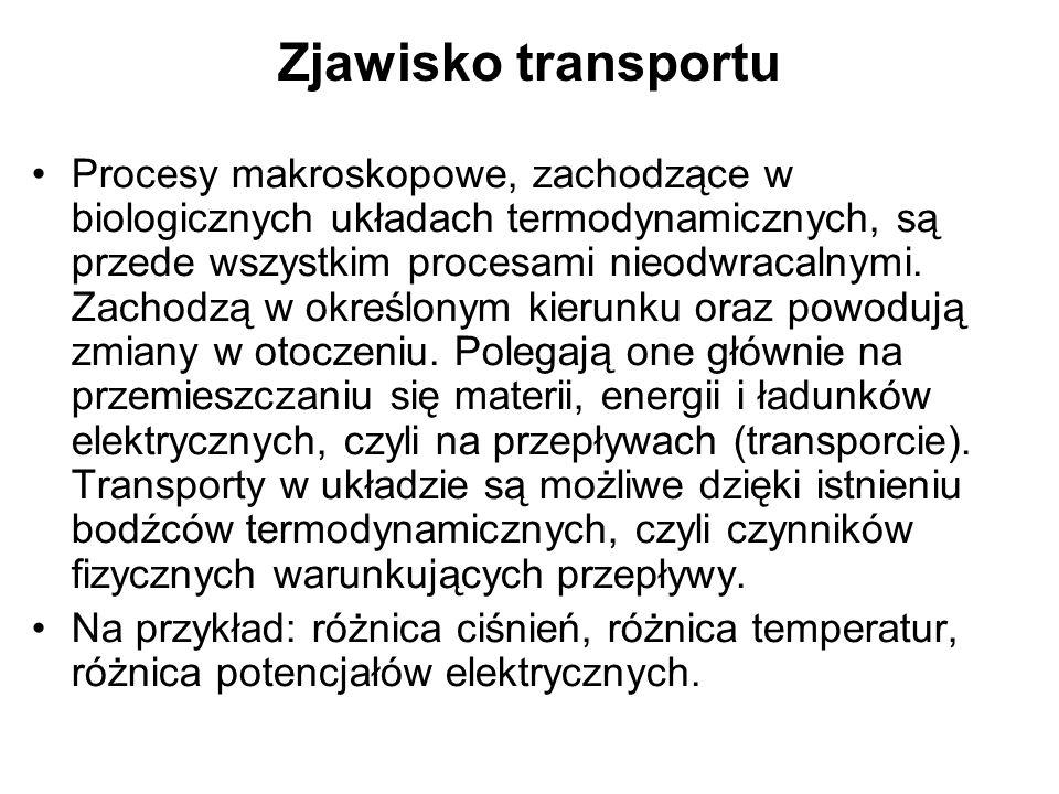 Zjawisko transportu