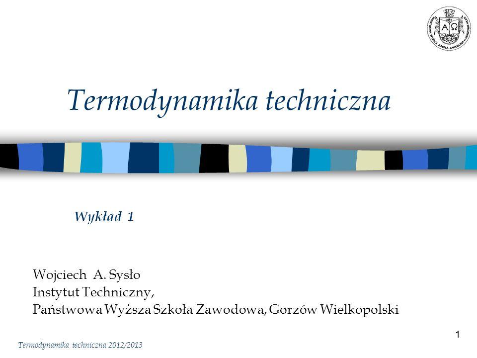 Termodynamika techniczna
