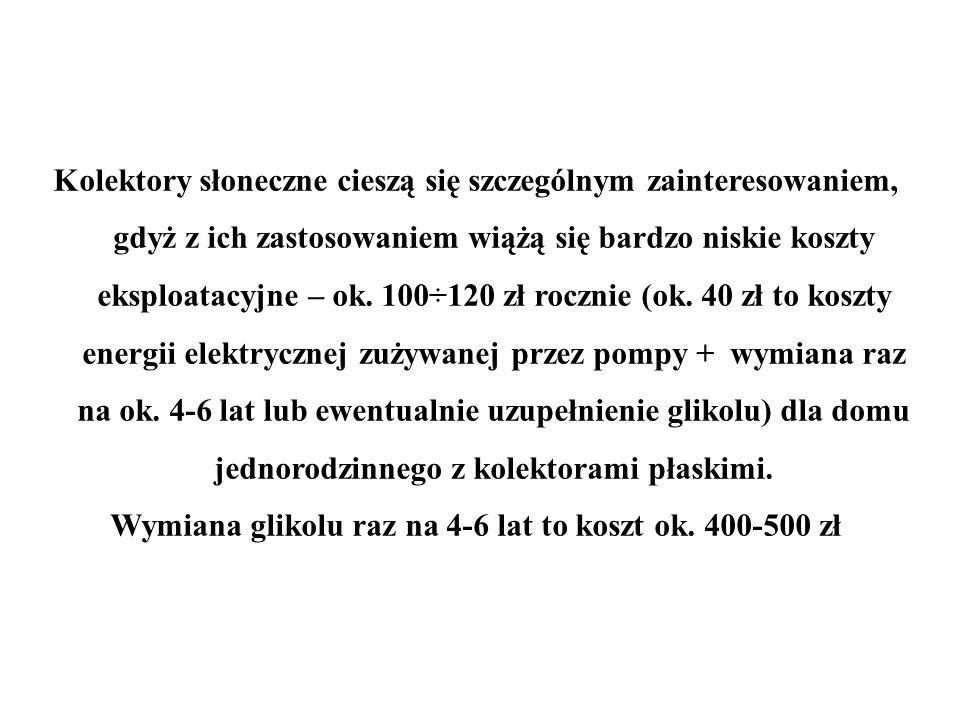Wymiana glikolu raz na 4-6 lat to koszt ok. 400-500 zł
