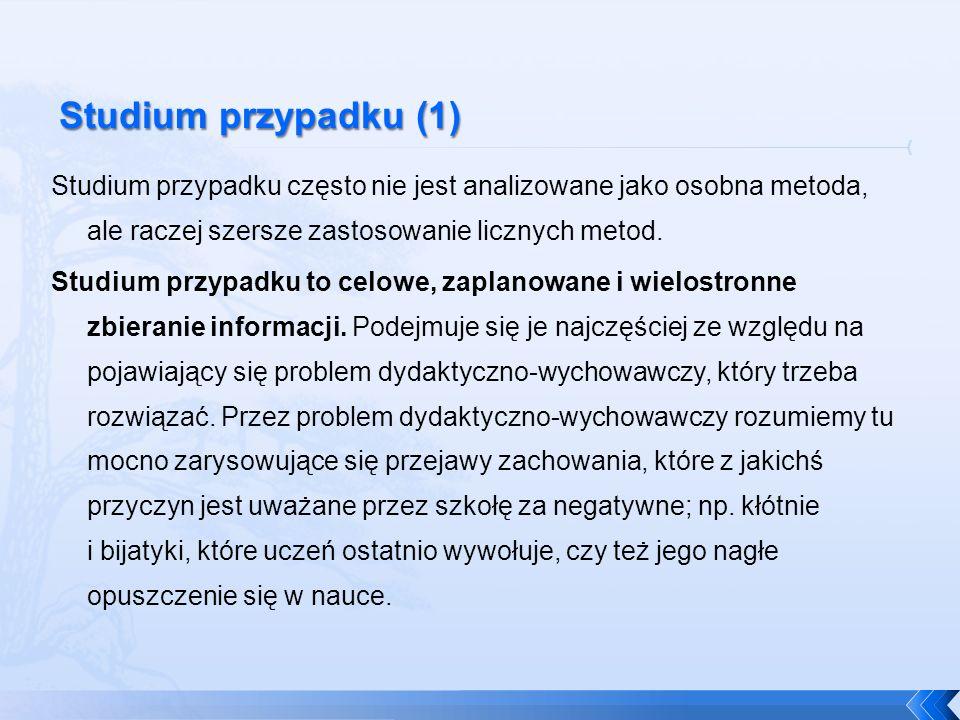 Studium przypadku (1)