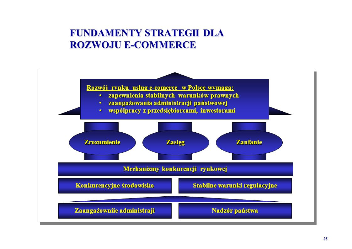 FUNDAMENTY STRATEGII DLA ROZWOJU E-COMMERCE