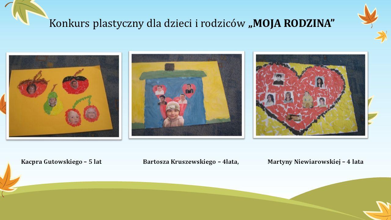 """Konkurs plastyczny dla dzieci i rodziców """"MOJA RODZINA"""
