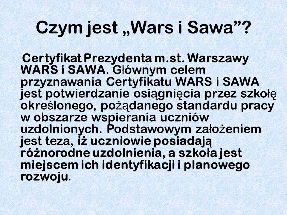 """Czym jest """"Wars i Sawa"""
