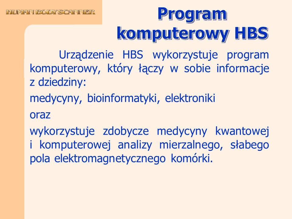 Program komputerowy HBS