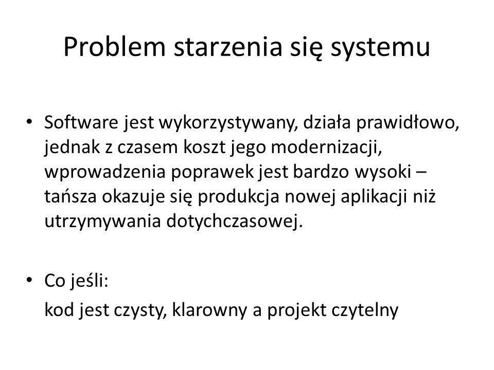 Problem starzenia się systemu