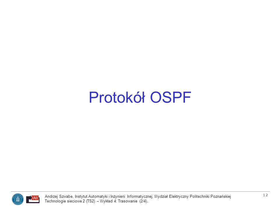 Protokół OSPF