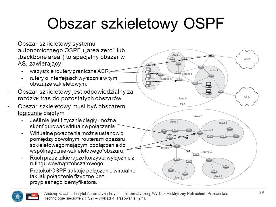 Obszar szkieletowy OSPF
