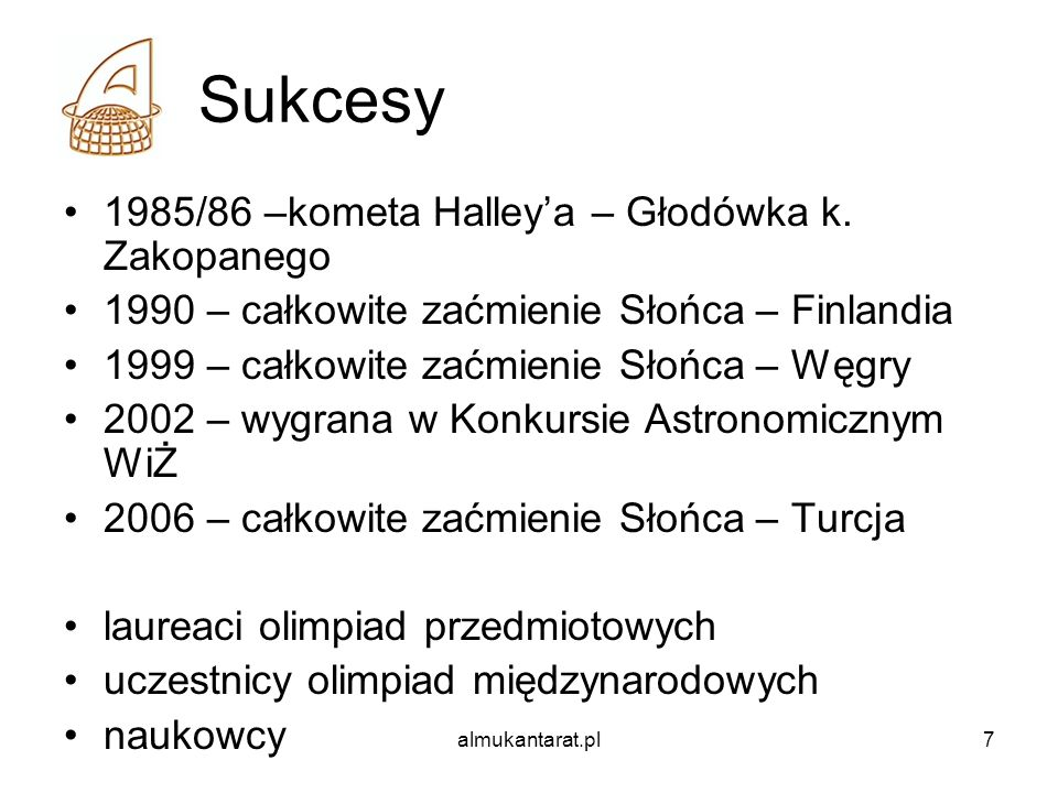Sukcesy 1985/86 –kometa Halley'a – Głodówka k. Zakopanego