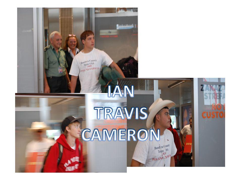 IAN TRAVIS CAMERON