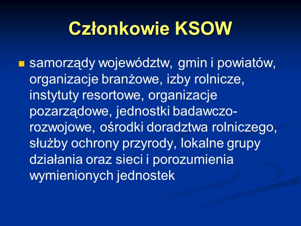 Członkowie KSOW