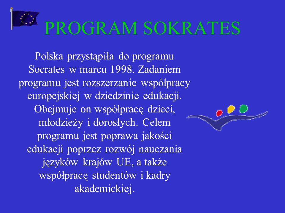 PROGRAM SOKRATES