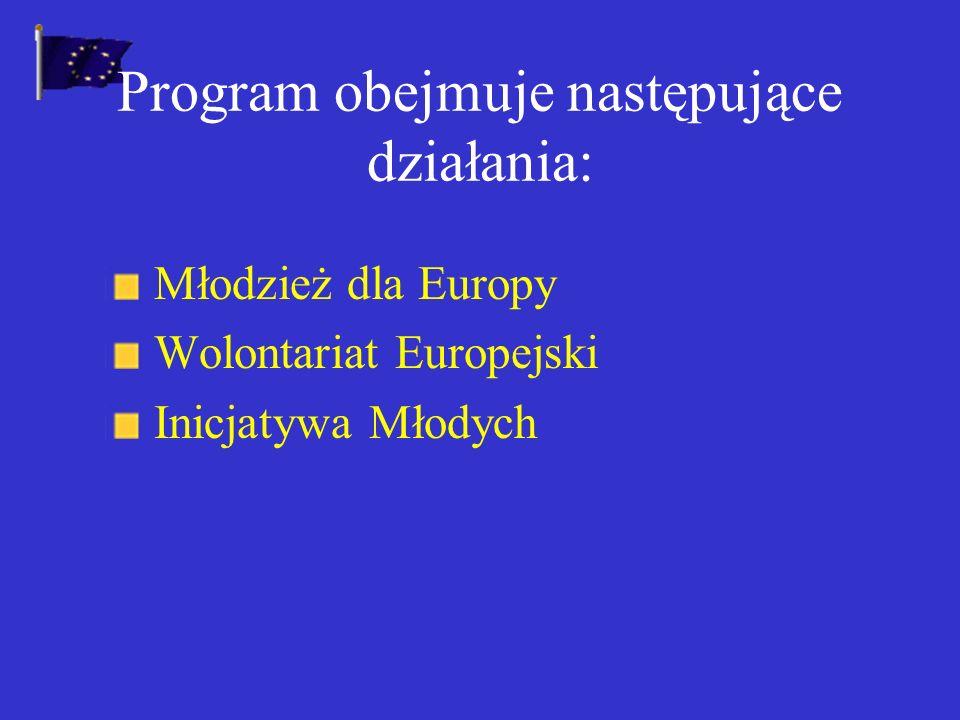 Program obejmuje następujące działania: