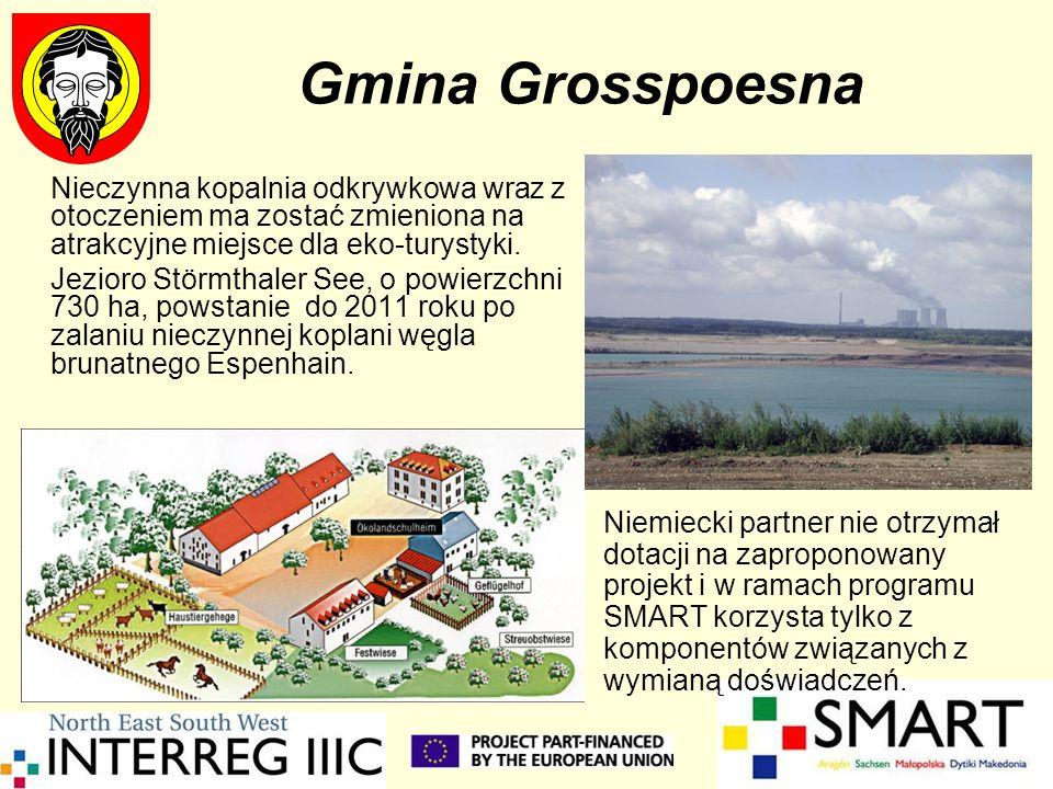 Gmina Grosspoesna Nieczynna kopalnia odkrywkowa wraz z otoczeniem ma zostać zmieniona na atrakcyjne miejsce dla eko-turystyki.