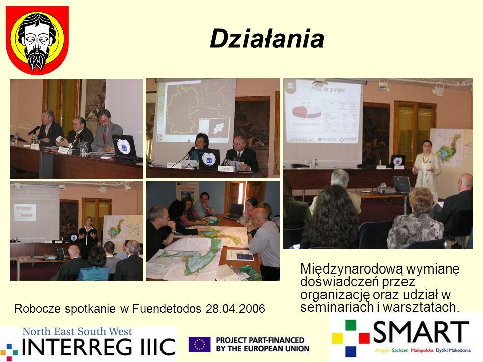 DziałaniaMiędzynarodową wymianę doświadczeń przez organizację oraz udział w seminariach i warsztatach.