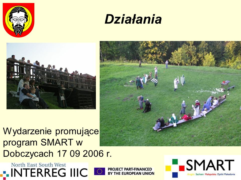 Działania Wydarzenie promujące program SMART w Dobczycach 17 09 2006 r.