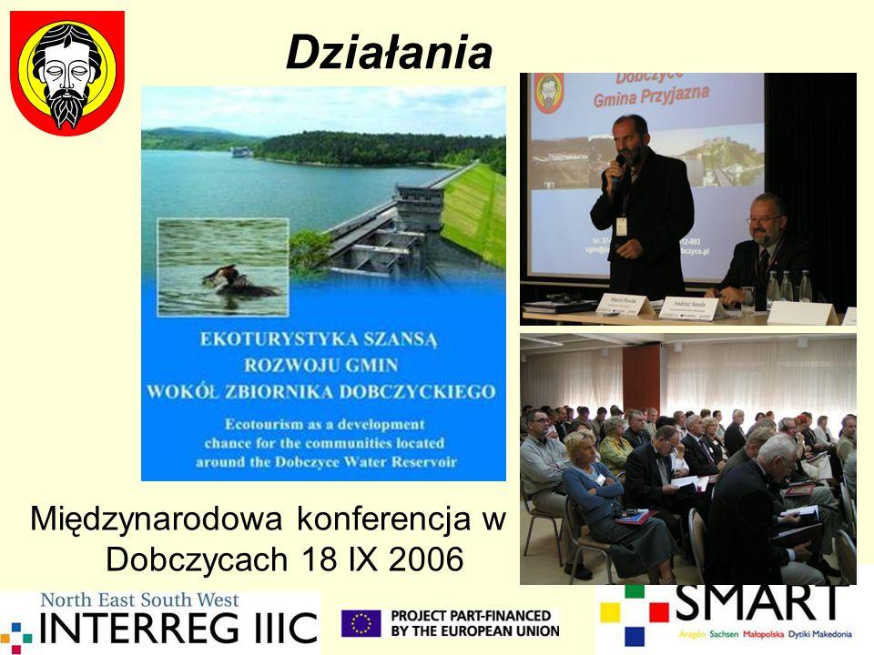 Międzynarodowa konferencja w Dobczycach 18 IX 2006