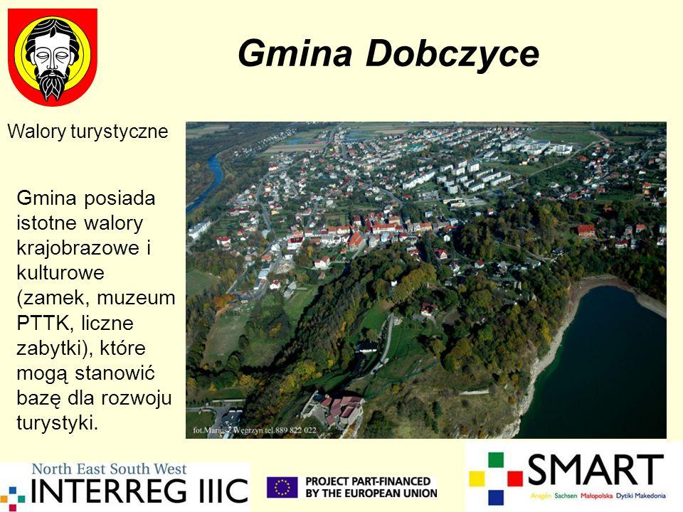 Gmina DobczyceWalory turystyczne.