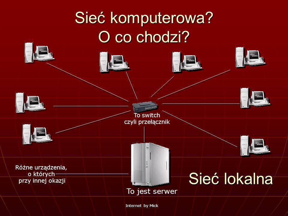 Sieć komputerowa O co chodzi