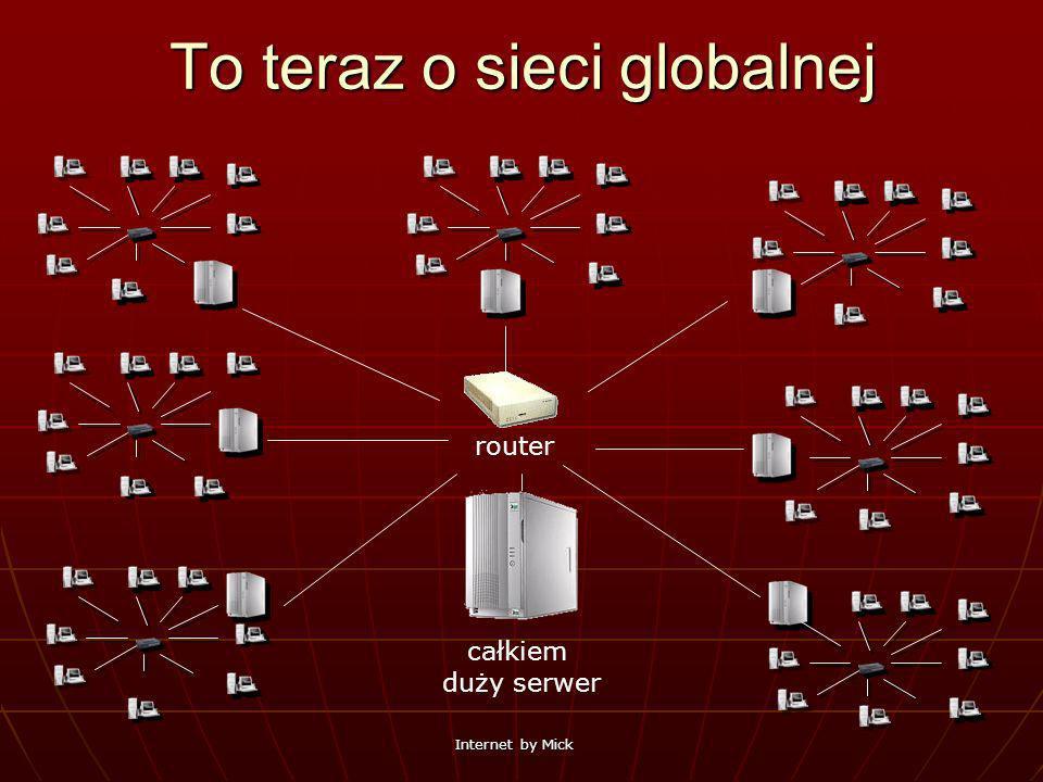 To teraz o sieci globalnej