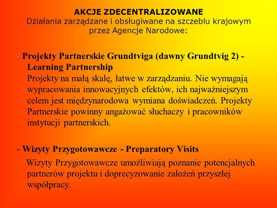 - Wizyty Przygotowawcze - Preparatory Visits