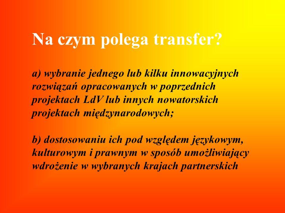 Na czym polega transfer