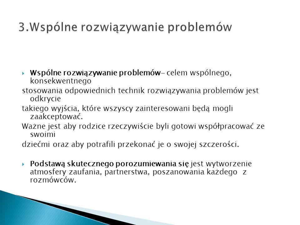 3.Wspólne rozwiązywanie problemów