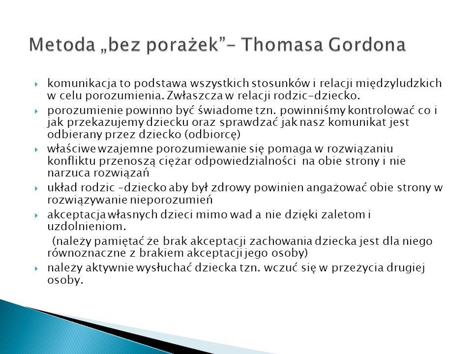 "Metoda ""bez porażek - Thomasa Gordona"