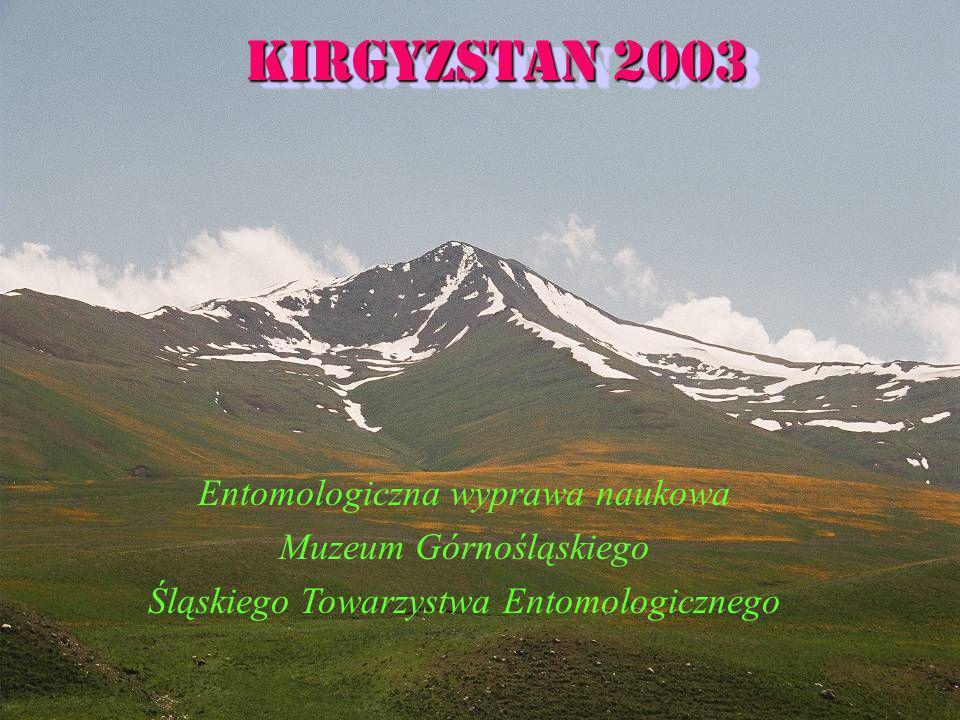 Kirgyzstan 2003 Entomologiczna wyprawa naukowa Muzeum Górnośląskiego