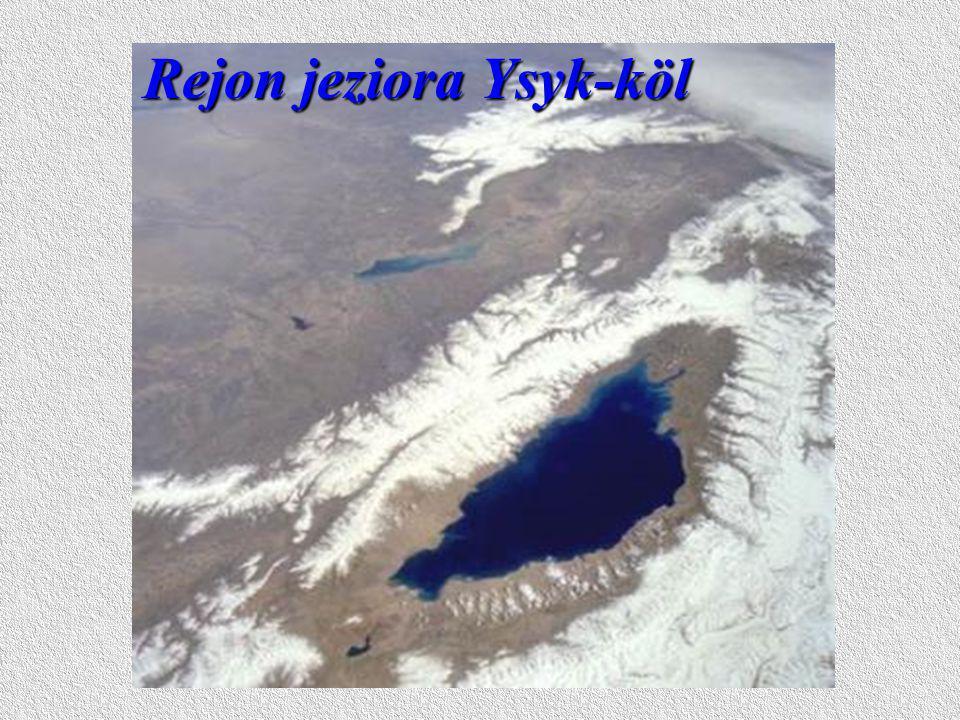 Rejon jeziora Ysyk-köl