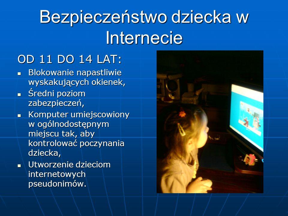Bezpieczeństwo dziecka w Internecie