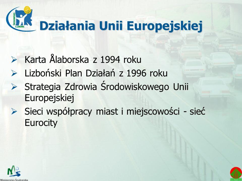 Działania Unii Europejskiej