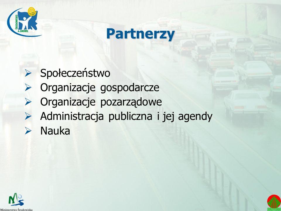 Partnerzy Społeczeństwo Organizacje gospodarcze