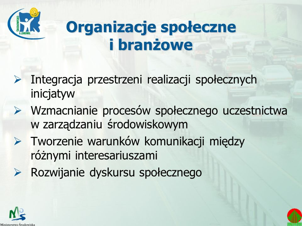 Organizacje społeczne i branżowe