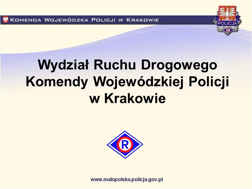 Wydział Ruchu Drogowego Komendy Wojewódzkiej Policji w Krakowie
