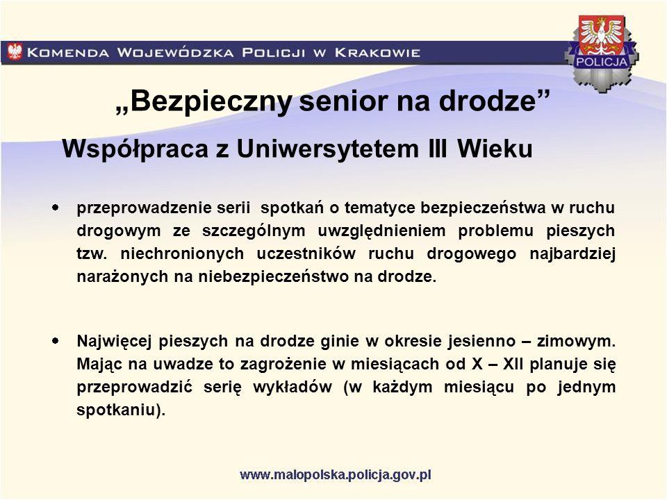 """""""Bezpieczny senior na drodze"""