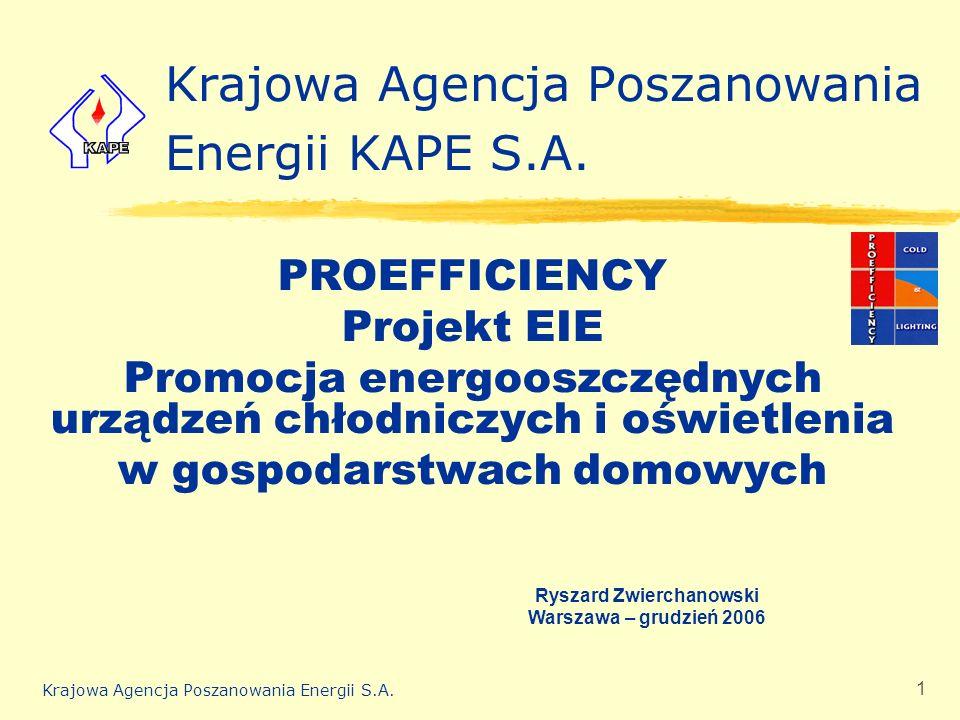 Krajowa Agencja Poszanowania Energii KAPE S.A.