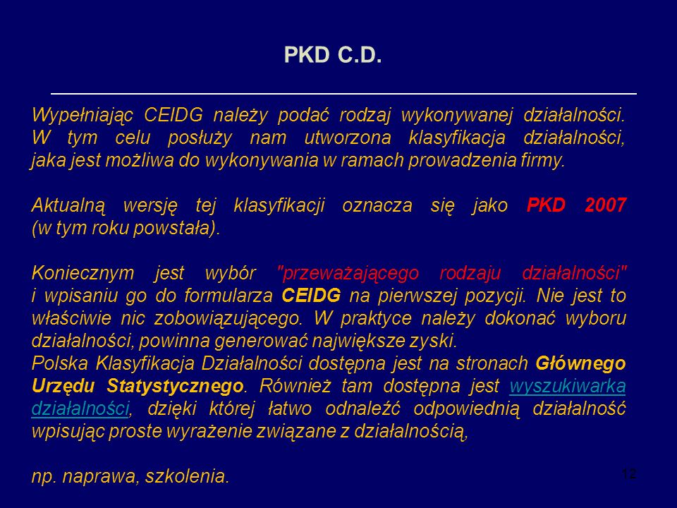 PKD C.D.